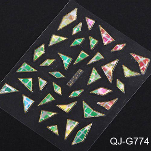 NOU*** Abtibilduri (stickere) unghii 3D cu forme neregulate*** Bucuresti - imagine 6