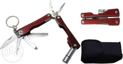 Туристически многофункционален нож 3 вида