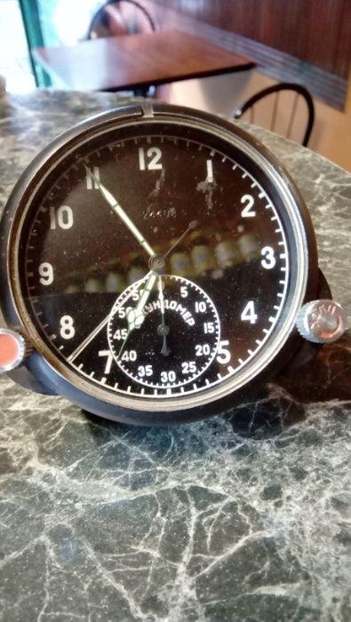 Руски самолетен часовник от СУ 27 механичен