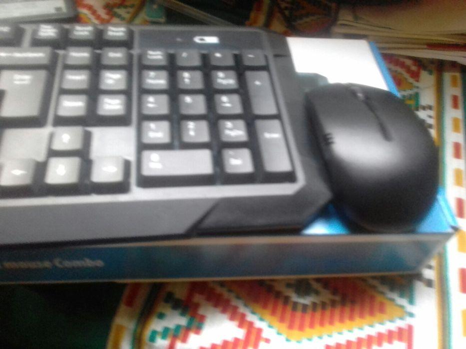 Kit de teclado e mouse wireless Maputo - imagem 7