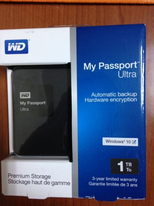 Hard WD Passport Ultra 1TB