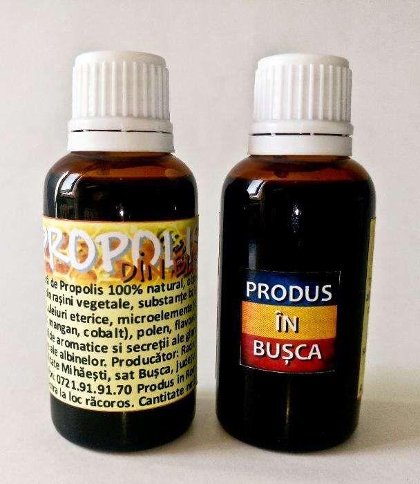 Tinctura de propolis 100% natural