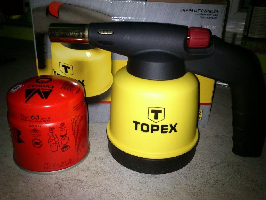 Lapa gaz TOPEX arzator alama reglabil+cartus gaz