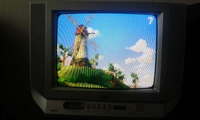 Телевизор -JVC
