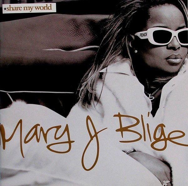 CD original sigilat Mary J. Blige – Share My World