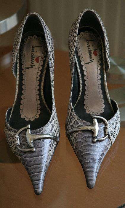 Pantofi piele sarpe, adusi din SUA, marimea 36