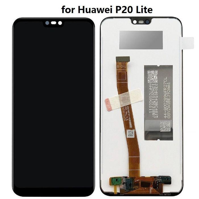 Нов Дисплей с тъч скрийн Huawei P20 Lite/Nova E3 /Оригинален / Рамка