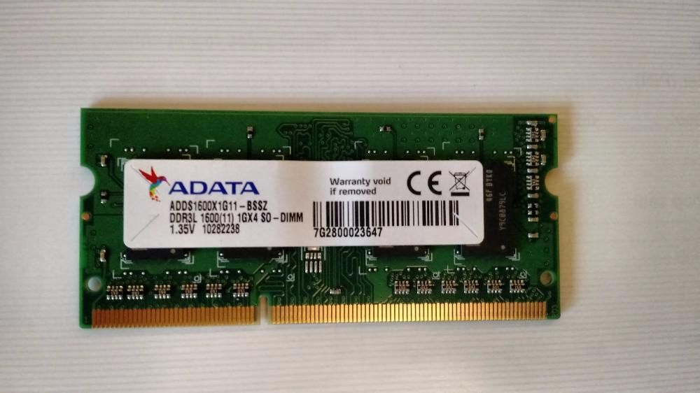 Memorie RAM laptop 1 GB DDR3L 1600 SO-DIMM 1,35V / NAS QNAP