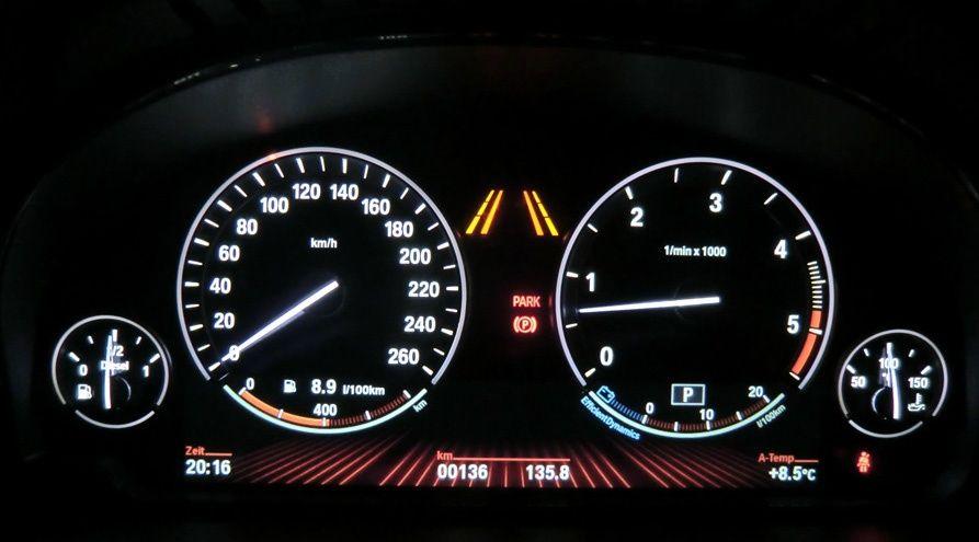 Ceas Bord Display Extins 6WA BMW F01, F10, F13, F15, F16 (5,6,7,X5,X6)