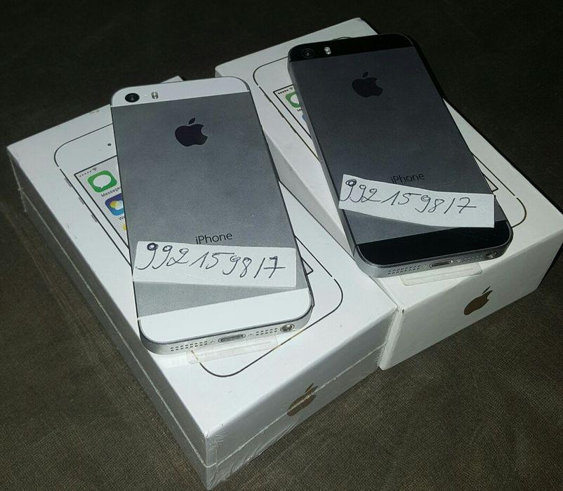 Negócio sério Apple IPhone 5s Original cor Branco e Preto.
