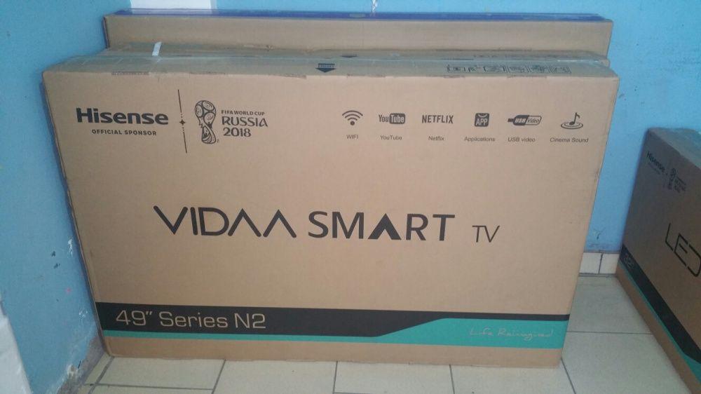 Promoção de tvs hisense LED FULL HD SMART 49 polegadas novas na caixa