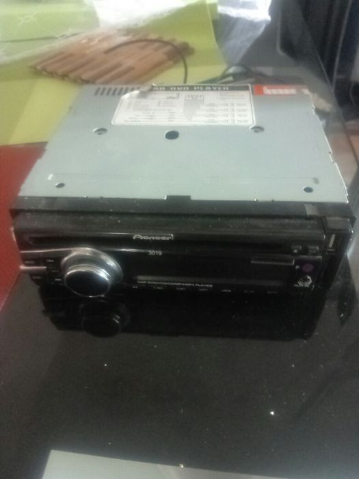 Reprodutor DVD Pioner, entrada de CD, flash e memory card