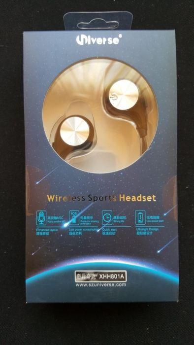 Căști wireless sport antitranspiratie Universe NOI