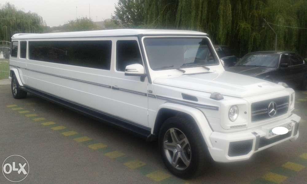 Лимузин Гелендваген G 6.3 Прокат в Алматы