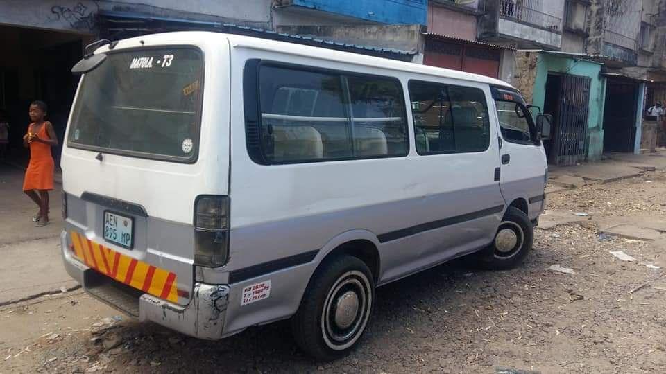 Minibus 3L manual limpo