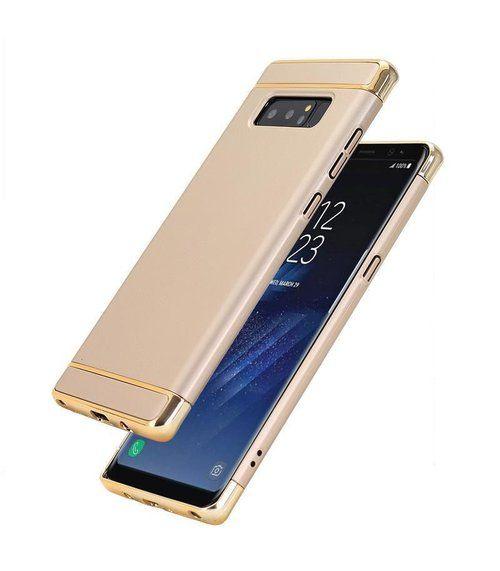 Husa Elegance Luxury 3 in 1 pentru Samsung Galaxy Note 8 Gold