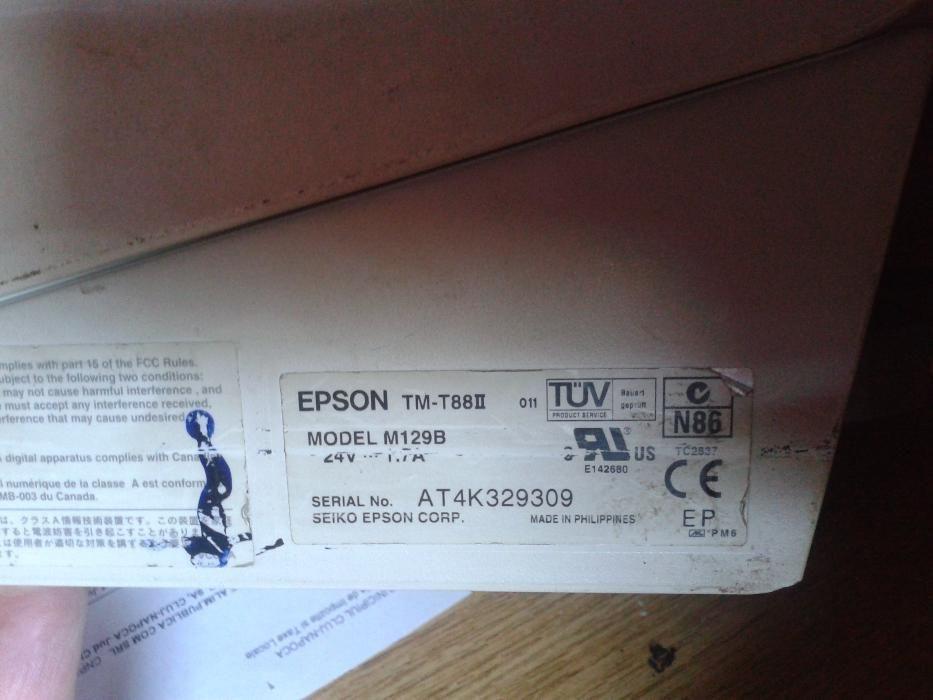 Imprimanta termica Epson pentru POS cu banda de 79 cm