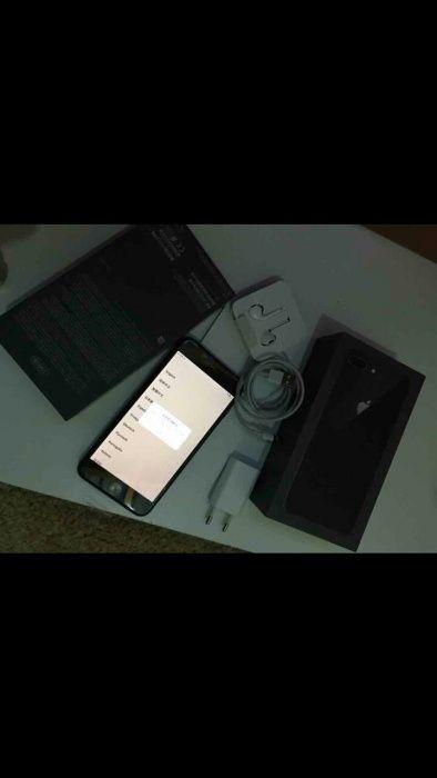 IPhone 8 pluz 256g ha bom preço com caixa com um mes de uso