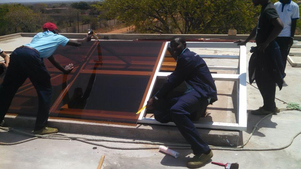 Montagem e reparacão de janelas e portas de alumínio