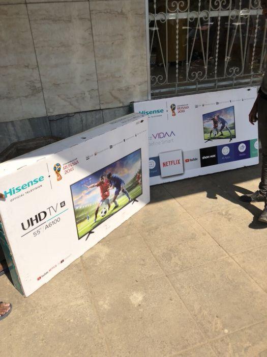 Hisense 55 polegadas 4K smart tv