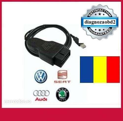 Tester vag.com diagnoza auto VAG COM 12.12 ROMANA - VCDS Audi VW