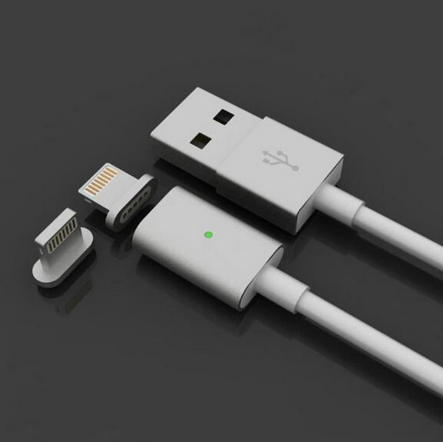 USB магнитен кабел зареждане Iphone, Samsung, HUAWEI, LG, LENOVO, HT гр. София - image 2