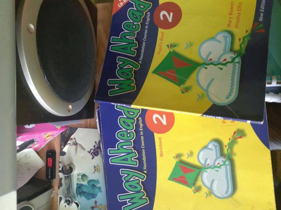 Книги по английскому языку Way Ahead 2,3,4,5 + тетрадь продам