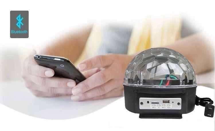 GLOB party player prin Bluetooth jocuri lumini cu LED-uri 6 culori