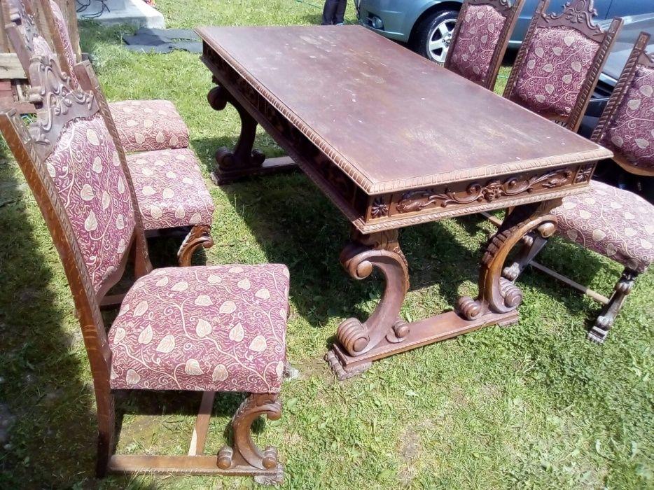 Masă+ scaune