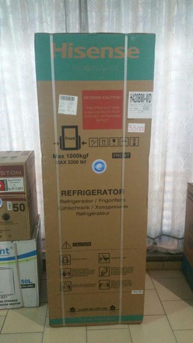 Geleiras hisense espelhadas 420L novas na caixa com garantia
