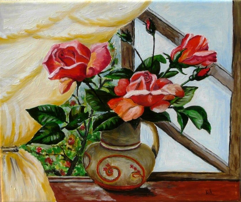 """""""Trandafiri rosii"""""""