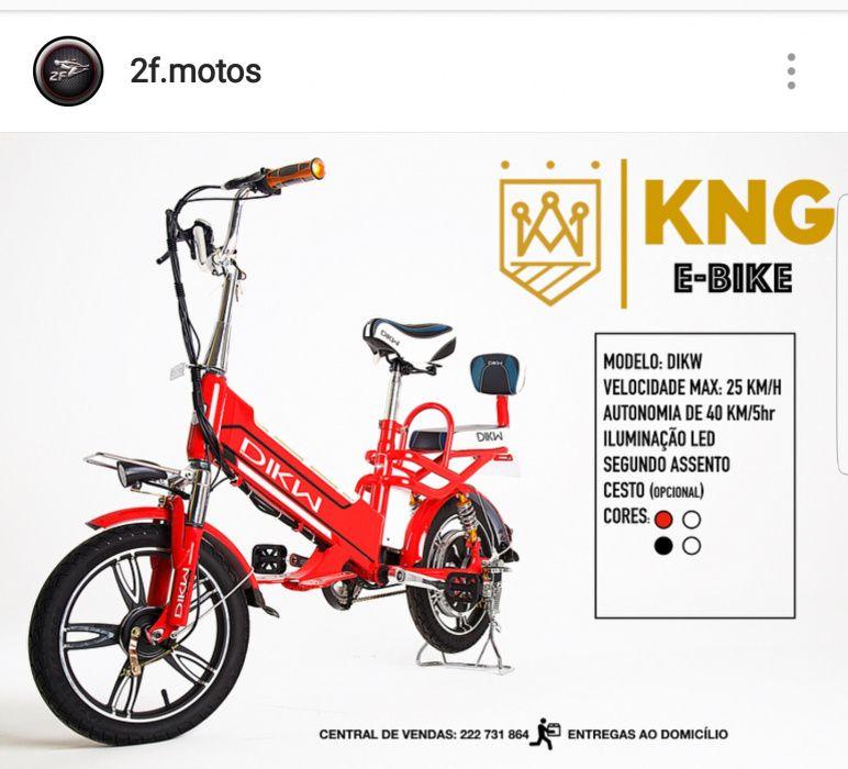 Bicicletas elétricas a venda
