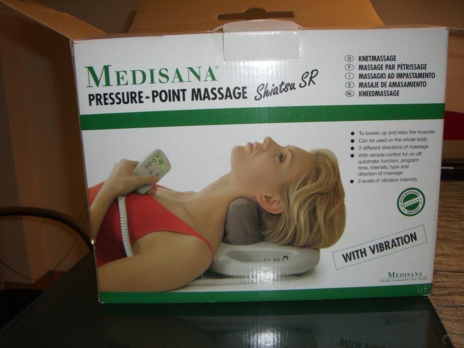 Масажен уред MEDISANA - за шияцу масаж с вибрации
