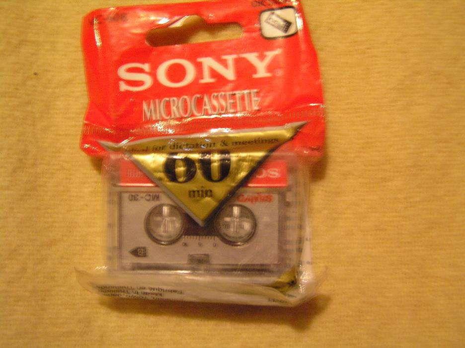caseta supermini reportofon Sony