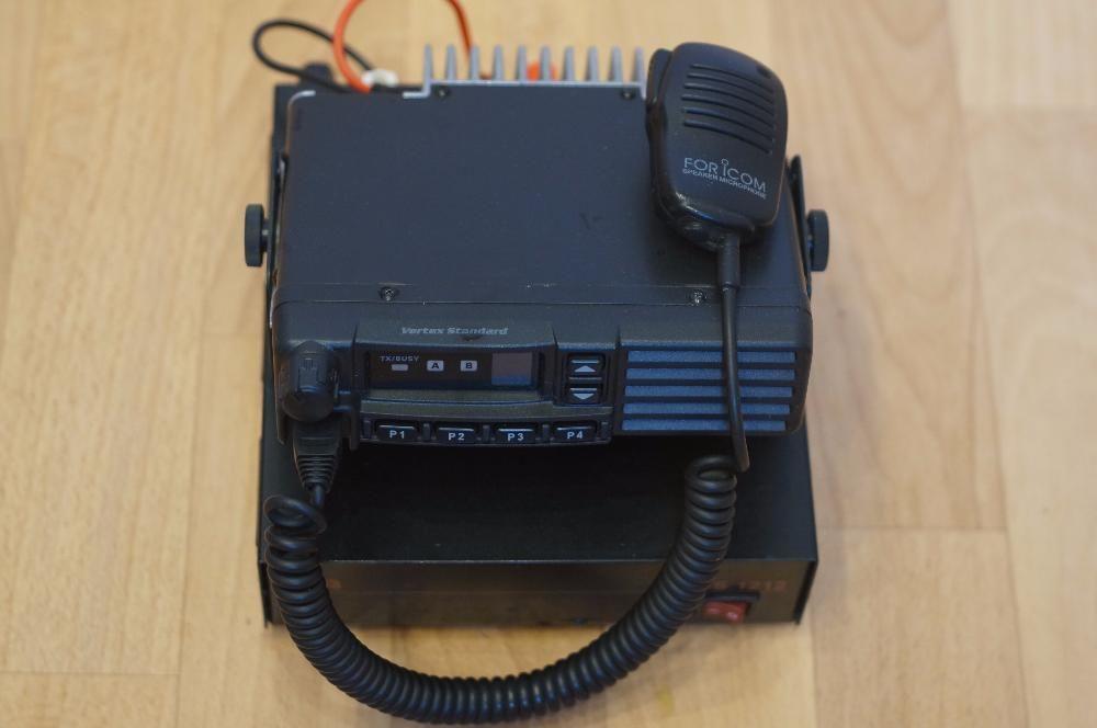 Рация Vertex Standard VX-2100E-G6-25 с блоком питания BBSP1212