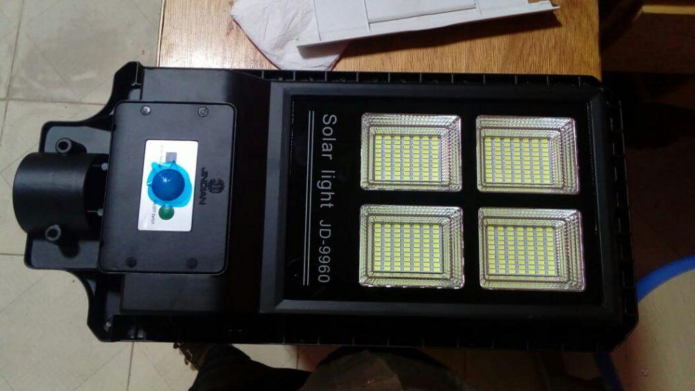 Lampadas com Painel solar