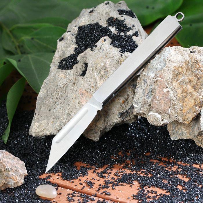 Джобен сгъваем нож от неръждаема стомана