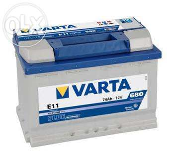 Аккумулятор Varta с доставкой и установкой