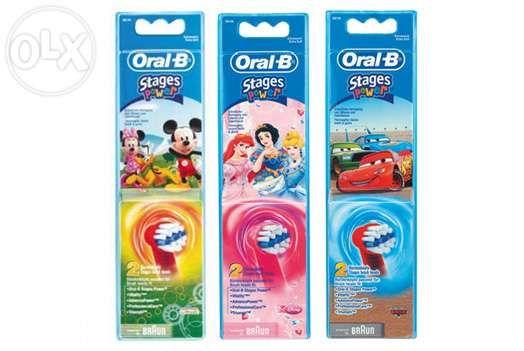 Oral-B pentru copii (capete) rezerve periute de dinti Stages Power