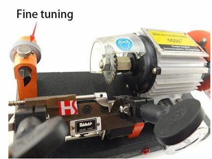 Máquinas para corte de chaves de carros