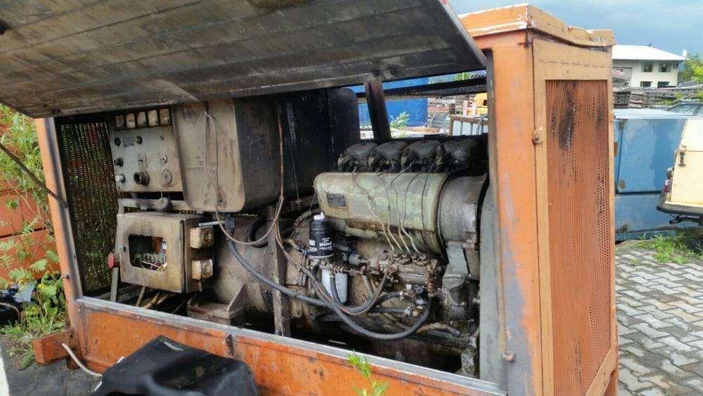Generator de curent cu motor Deutz 35 kva de vanzare sau inchiriez