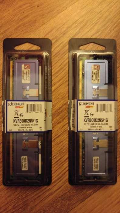 Vand kit DDR2 2x1gb Kingstone Hyper X 800/1066mhz RADIATOR!