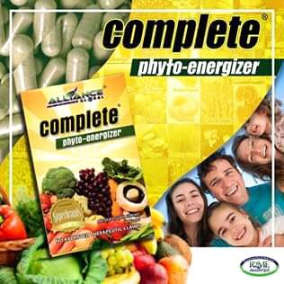 Suplementos Nutricionais da AIM Global: Complete Phyto - Energizer