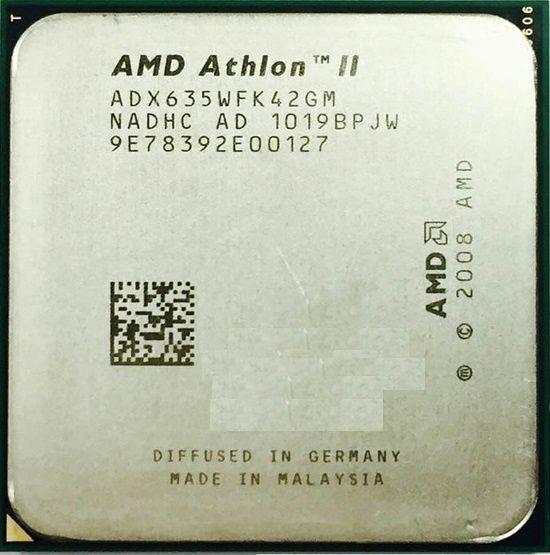 AMD Athlon II X4 635 /2.9GHz/