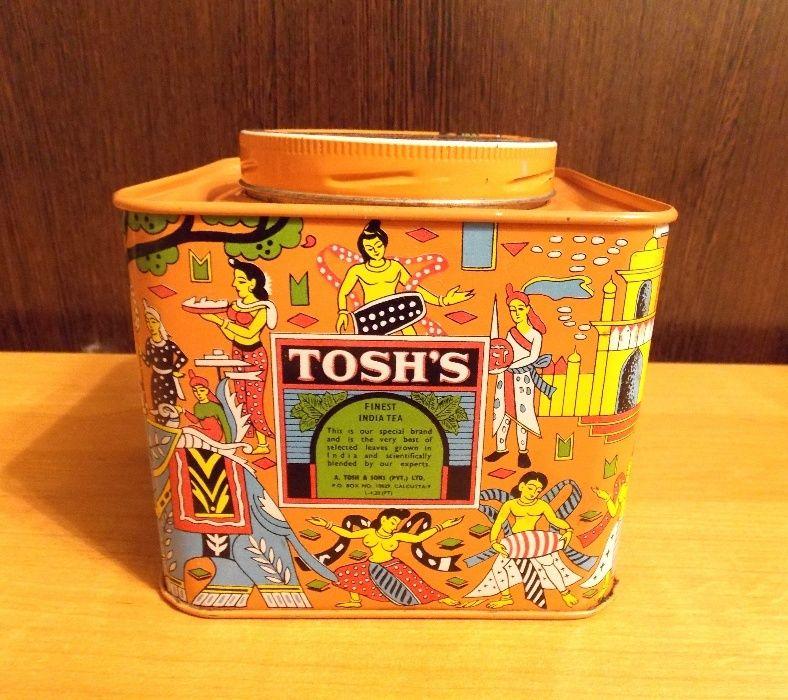 Коробка из-под индийского чая периода СССР