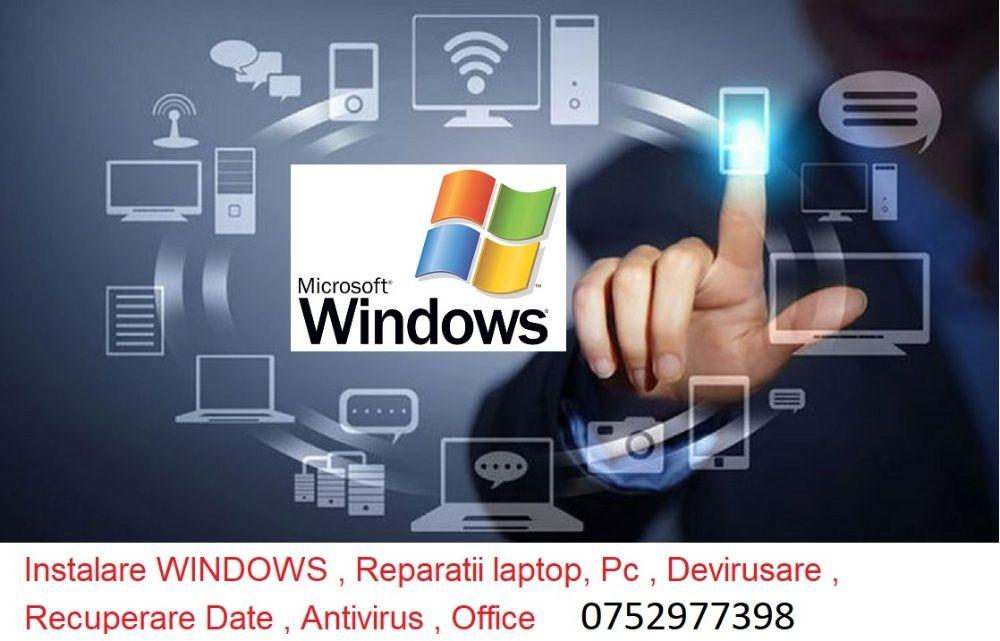 instalari windows , drivere , programe , reparatii laptop -deplasare