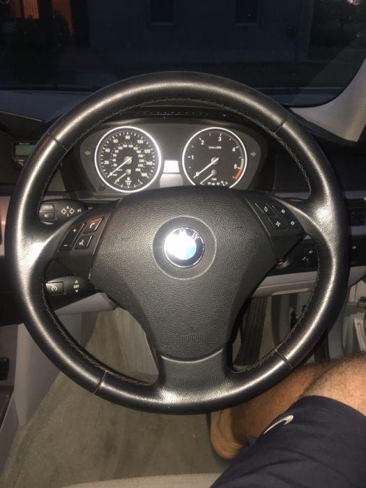 Vând volan sau airbag bmw e60 LCI