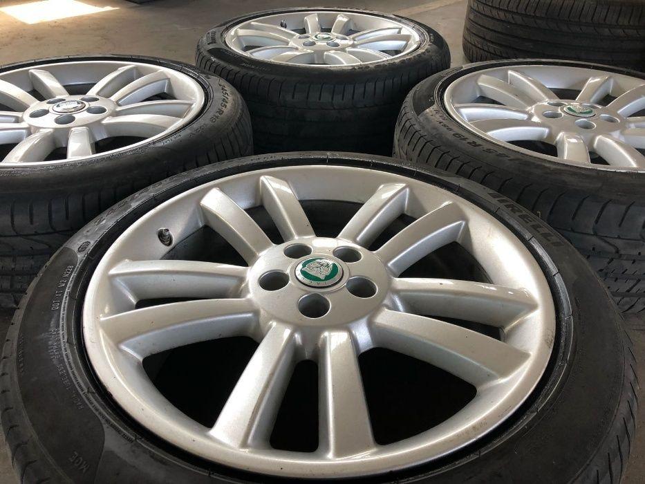 Jante Vara Originale Jaguar R19, Anvelope RFT Pirelli