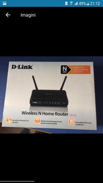 Router wireless D-Link DIR-615, Wireless-N 300Mbps