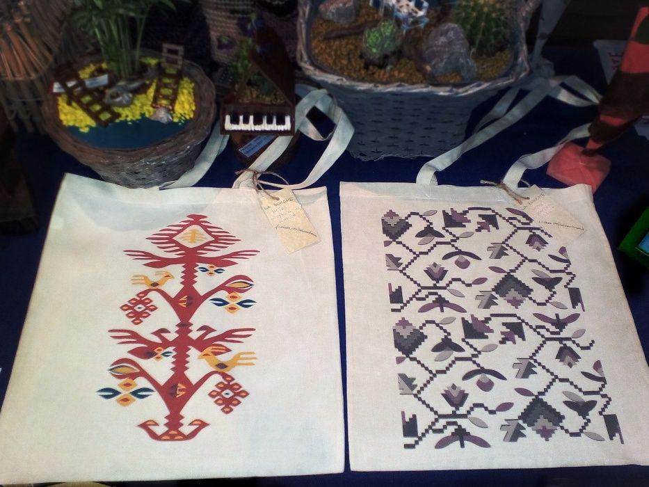 ПРОМОЦИЯ-Български мотиви от чипровските килими чанти от паммукъ